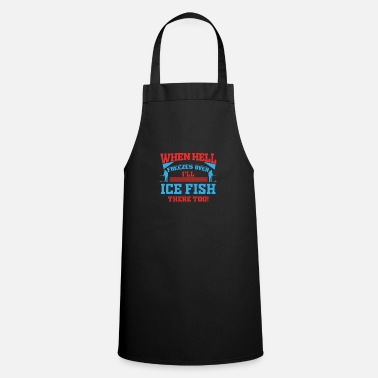 Norway Ice Fishing Fisherman Fish North Fishing Gift - Cooking Apron