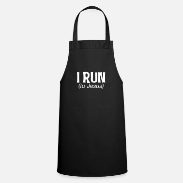 Running Jogging cardio workout fitness sport - Cooking Apron
