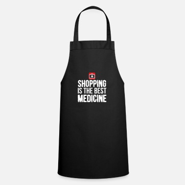 Vegetarian Shopping medicine fun gift - Cooking Apron