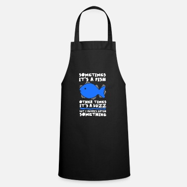 Sport Fishermen Funny design for anglers and fishermen - Apron