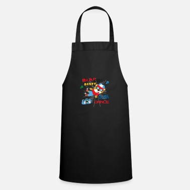 Dancing cool bear - Apron