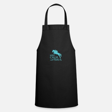 Ride Out Keep Calm and Ride On - Premium Design - Cooking Apron
