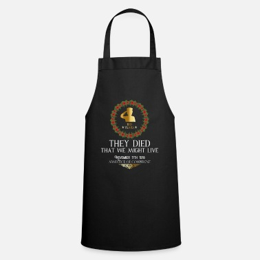 1918 Anniversary End of World War I 1918 - Cooking Apron