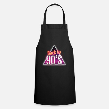 Turn On back to 90s, 90s gift idea - Apron