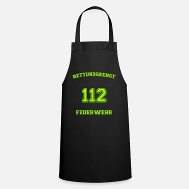 Workwear Rescue Service Fire Department 112 Workwear - Apron