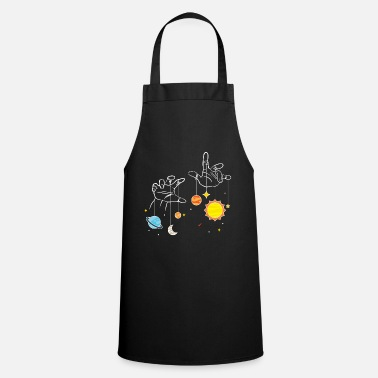Cosmology Astronomer star astereologist star image gift - Apron