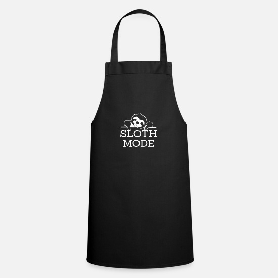 Logo Aprons - Sloth Sloth Fashion - Apron black
