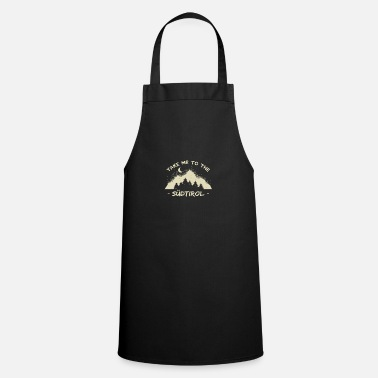 Dolomites tyrol mountains hiking tiroler bavaria climbers - Apron