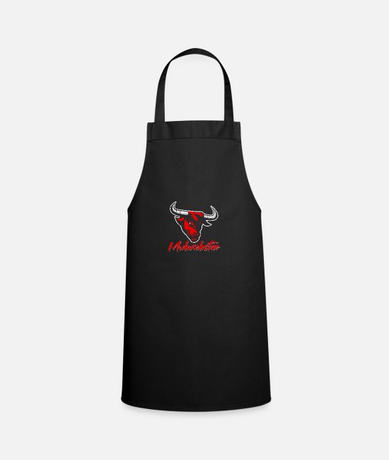 Uncle Aprons - Muhviehstar design - Apron black