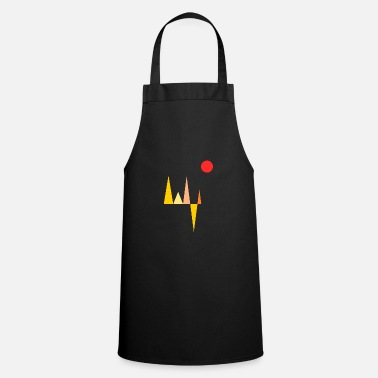 Triangle yellow - Apron
