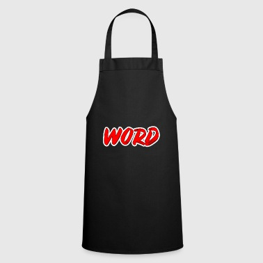 Word Art word - Cooking Apron