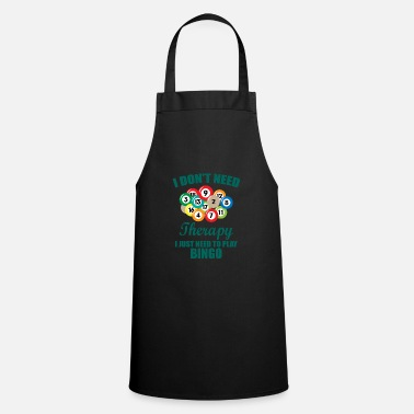 Car Therapy bingo gift saying pension grandpa - Apron
