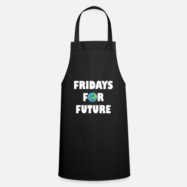 Fridays For Future Planet Climate Change Protest Demo - Apron