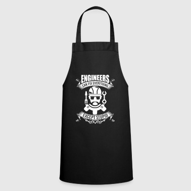Engineer engineering electrical engineer saying - Cooking Apron