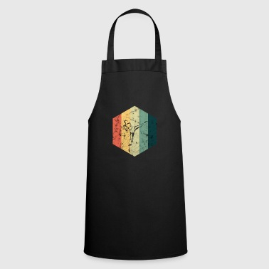 Kickboxer kickboxing fight - Cooking Apron
