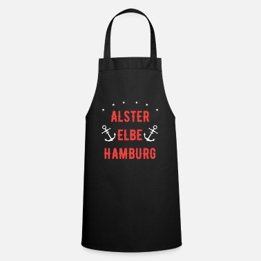 Alster Alster, Elbe, Hamburg - This is my city! - Apron