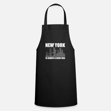 United States New York City is always a good idea gift trip - Apron