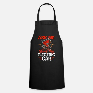Download Ask me about my electric car gift electric car - Apron