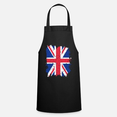 Uk UK UK flag - Apron