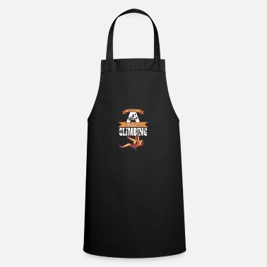 Girls Who Climb Just a girl who loves climbing - Apron