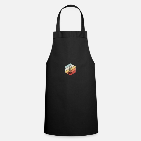 Space Aprons - Space Shuttle - Space, All, Space - Apron black