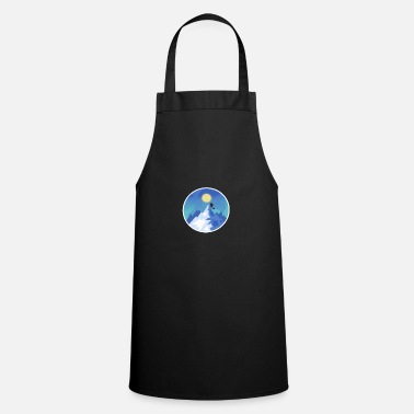 Moon and hills - Apron