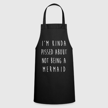 Rude Not Being A Mermaid Funny Quote - Fartuch kuchenny