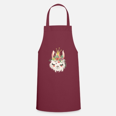 Jewelry Alpaca with jewelry - Apron