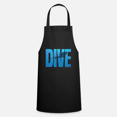 Diving Diver Dive Gift - Tablier