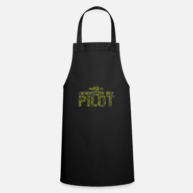 School Pilot military gift - Apron