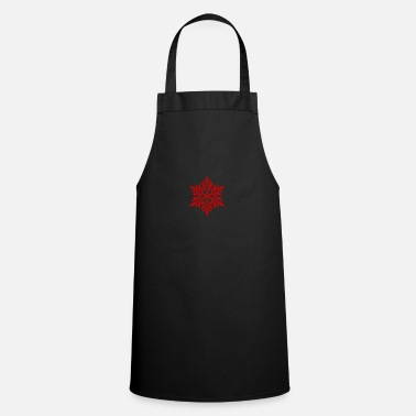 Flake Red flake - Apron
