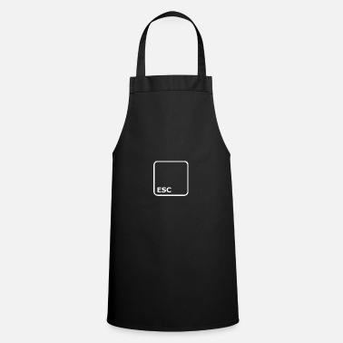 Key Button ESC BUTTON ESCAPE - Cooking Apron