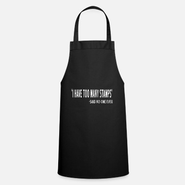 Stamp Collecting Collect stamps - Apron