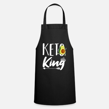 King Keto King Low Carb Lifestyle Diet Dietian Women - Apron