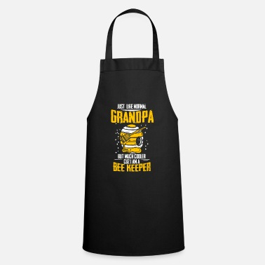 Honey Like a normal grandpa only cool beekeeper - Apron