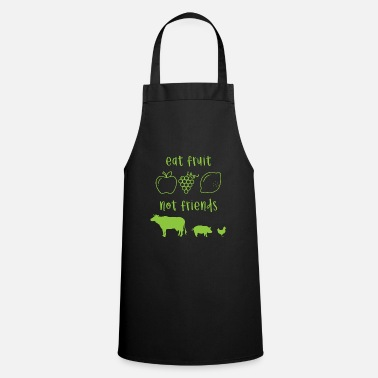 Eat Vegan animal protection saying gift - Apron