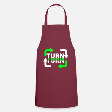 Turn Turn Turn Turn Arrows - Apron