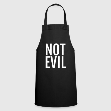Not Evil Funny Puns Silly Humor - Cooking Apron