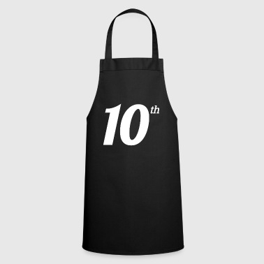 10th Tenth Large Text Funny Winning Ironic Award - Cooking Apron