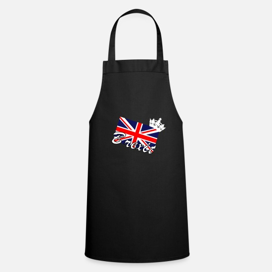 Birthday Aprons - Brexit England - Apron black