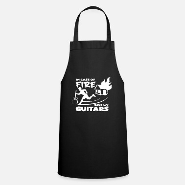 Funny &amp Guitar maker electric guitar guitar amp idea - Apron