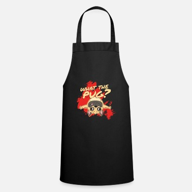 Wau What the pug? - Apron