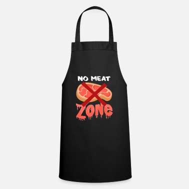 Meat No meat - Apron