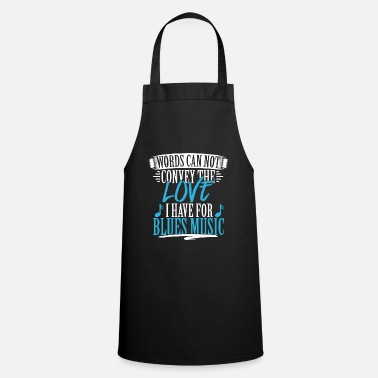 Blues Music Blues music - Apron