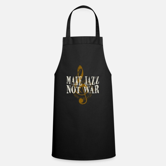 Music Aprons - jazz - Apron black