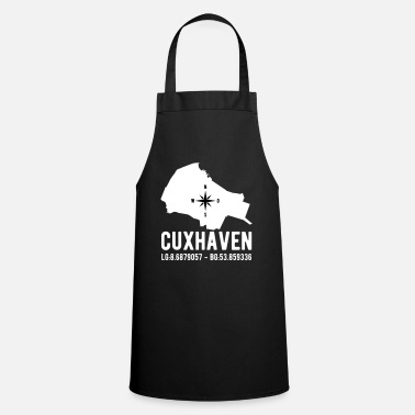 Latitude Cuxhaven latitude latitude city outline - Apron
