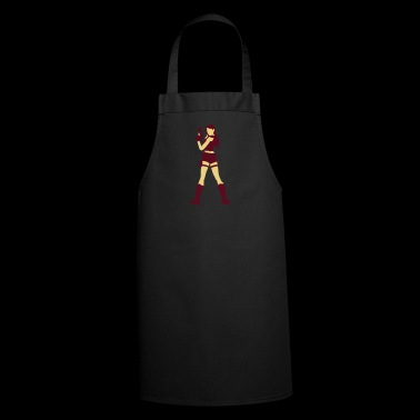 A Sexy Grave Hunter With Two Guns - Cooking Apron
