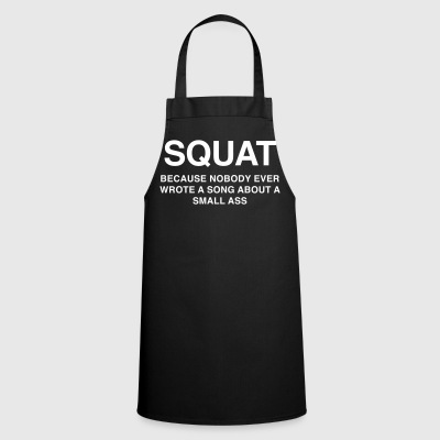 SQUAT Because nobody ever wrote about a song as - Cooking Apron