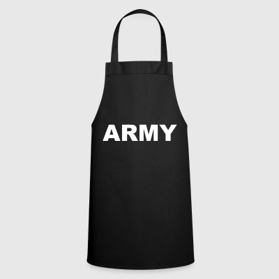 Army lettering - Cooking Apron