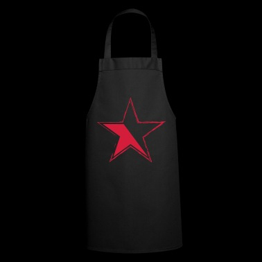 star for black garments - Cooking Apron